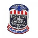 Vintage SHOOTERS CLUB OF AMERICA - Guns Magazine PATCH