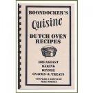 BOONDOCKER'S Quisine DUTCH OVEN RECIPES - COOKBOOK