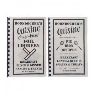 BOONDOCKER'S Pie Iron Recipes + Foil Cookery Cookbooks