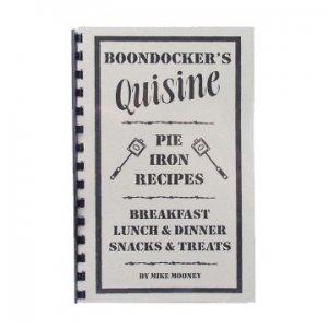 BOONDOCKER'S Quisine PIE IRON RECIPES - COOKBOOK