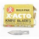 Vintage Bulk Pack of X-acto Blades #25 Large Contoured Blade