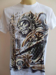 Emperor Eternity Chinese Paladin Knight T-shirt M L