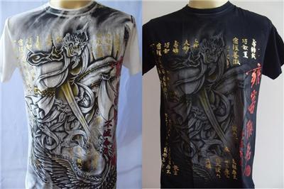 Emperor Eternity Garuda Tattoo Men's T-shirt M L