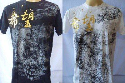 Emperor Eternity KOI & Angel Tattoo T-shirt M L XL 180608192
