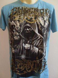 Emperor Eternity Jawless Skull Wizard Tattoo T-shirt  M