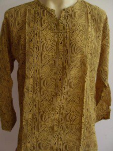 Ban chiang style Men's T Shirt Yellow L