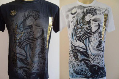 Emperor Eternity Guan Yin Men Tattoo T shirt M L XL