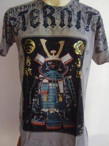 Emperor Eternity Samurai Suit T-shirt Brown L