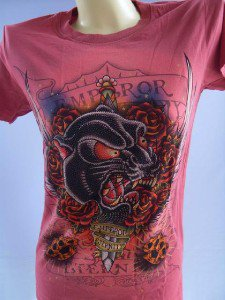 Emperor Eternity Black Tiger Woman tattoo t shirt M