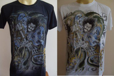 Emperor Eternity Dragon Killer Samurai Tattoo S M L XL 17063 7943
