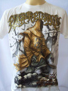 Emperor Eternity The Immortal Warrior Tattoo T-shirt M