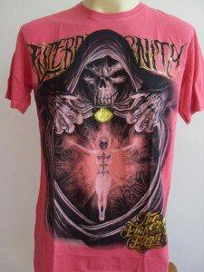 Emperor Eternity Fire Soul Tattoo T shirt Cerise L