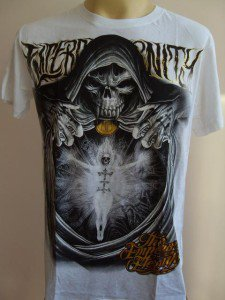 Emperor Eternity Fire Soul Tattoo T shirt white  L