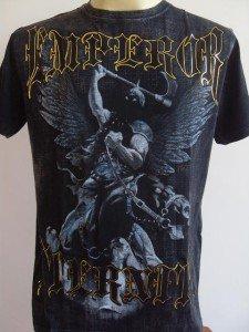 Emperor Eternity Dark Knight Tattoo Men T-shirt Black M