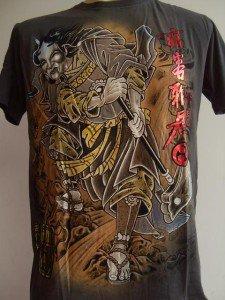 Emperor Eternity Oni Killer Tattoo T Shirt gray L 17069 1265