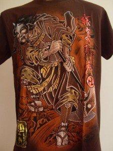 Emperor Eternity Oni Killer Tattoo T Shirt brown L