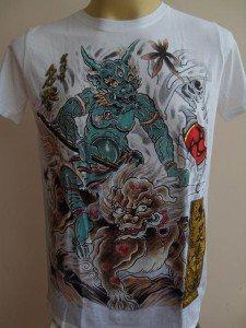 Emperor Eternity Third eyed Devil Tattoo White S M XL