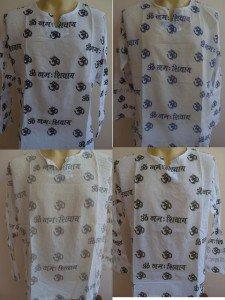 Ganesha Ganesh Men's T Shirt OM Hindu India White L