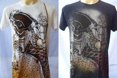 Emperor Eternity Giant KOI CARP Tattoo Men T-shirt M L
