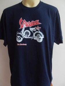 Scooter  Men T-Shirt Tank Singlet Navy blue XL