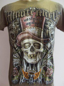 Minute Mirth High Hat Men Tattoo T-shirt M L