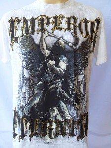 Emperor Eternity Dark Knight Tattoo Men's T-shirt White M