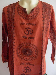 Ganesh Ganesha Om Men's T Shirt Hindu India orange XL #OrOm