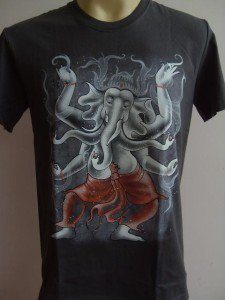 Ganesha Ganesh Men T Shirt OM Hindu India  # DCGr