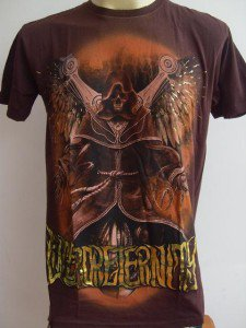 Emperor Eternity Flying Robot Tattoo T-shirt brown M