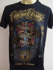 Emperor Eternity Diamond Dagger Tattoo shirt Black M 18079 7239