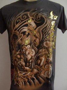 Emperor Eternity Devil Garuda Tattoo T-shirt gray M