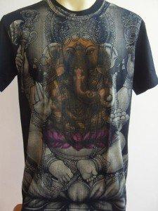 Ganesh Lord of Ganesha Men T Shirt OM Hindu  India L #BKlotus