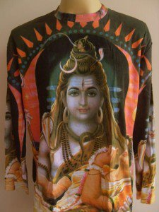 Shiva Ganesh God Hindu Deity Hinduism India L Long sleeve