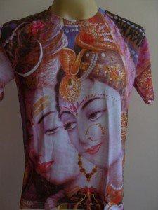 Parvati Mother of Ganesha Ganesh Men T Shirt OM Hindu India M