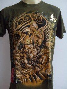 Emperor Eternity Devil Garuda Tattoo T-shirt Green M