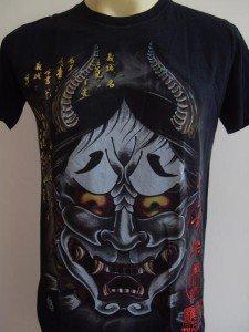 Emperor Eternity Oni Kabuki Japanese Mask Black L 18070 0908