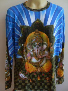 Ganesh T Shirt OM Hindu India Hinduism XL Long sleeves  #Bl