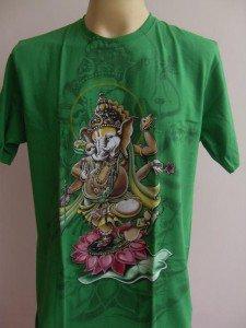 Ganesha Ganesh  Men T Shirt OM Hindu India Meditation L
