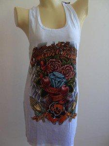 Emperor Eternity Roses Diamond Dress Sac Woman White S