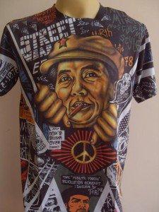 Minute Mirth Chinese Revolution Tattoo Men T-shirt  L