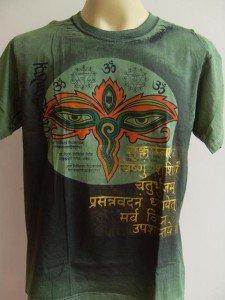 Third Eye Ganesh Men T Shirt OM Hindu  India L #A11