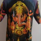 Ganesh Ganesha Om Men's T Shirt Hindu India Purple XL G02