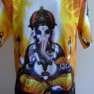 Ganesha Ganesh Men T Shirt OM Hindu India L G08 18082 6005