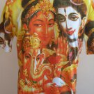 Shiva Ganesh 1Men T Shirt OM Hindu India size L #SF04