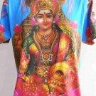 Lakshmi Hindu Goddess T Shirt OM Hindu India size L