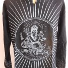 Ganesh Ganesha Om Men's T Shirt Hindu India ฺBlack L #Gt18 Thin Cotton