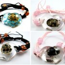 Wholesale Lot 6 Real Insect Bug Amber Bracelets New #4