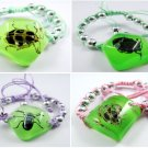 Wholesale Lot 6 Real Insect Bug Amber Pentagon Bracelets New