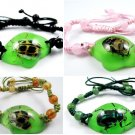 Wholesale Lot 6 Real Insect Bug  Amber Polygon Bracelets New