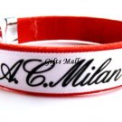 AC Milan FC Club Football Sport Adjustable Bangle Bracelet New